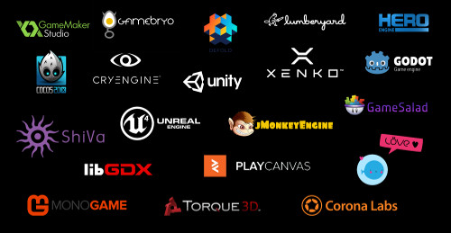 Picture of Game Engine Logos