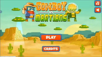 Cowboys vs Martians Screenshots