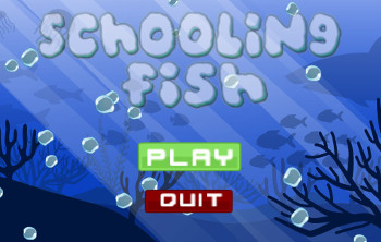 Schooling Fish by GameTapped