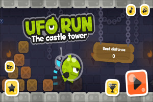 UFO Run Screenshots